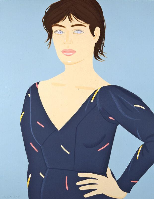 Alex Katz, 'Grey Dress', 1992, Print, Screenprint in colors, on Arches paper, Artsy x Capsule Auctions