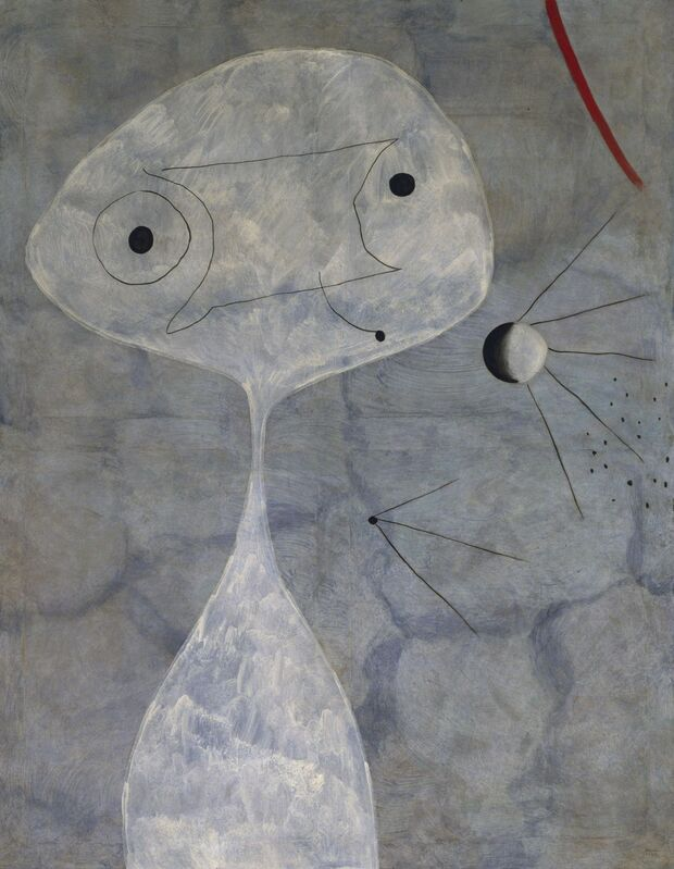 Joan Miró, 'Pintura (Hombre con pipa) (Painting [Man with a Pipe])', 1925, Painting, Oil on canvas, Museo Reina Sofía
