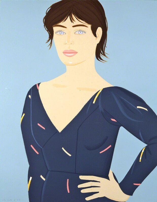 Alex Katz, 'Grey Dress', 1992, Print, Screenprint in colors, on Arches paper, Corridor Contemporary