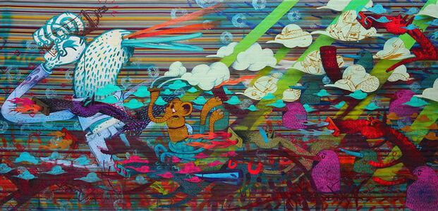 Alëxone Dizac, 'CONTRE SENS', 2014
