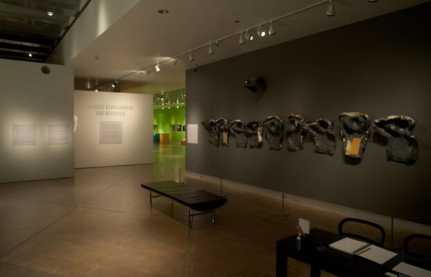 Shirley Klinghoffer: CRT Revisited, installation view
