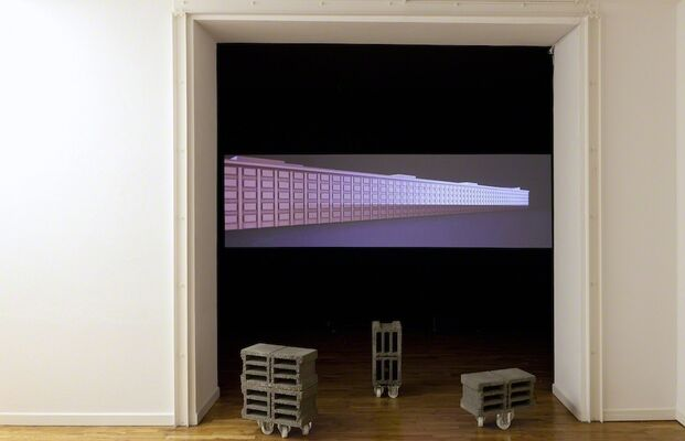 Finite Turn, installation view