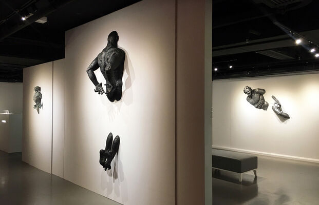 Seven Dimensions by Matteo Pugliese, installation view