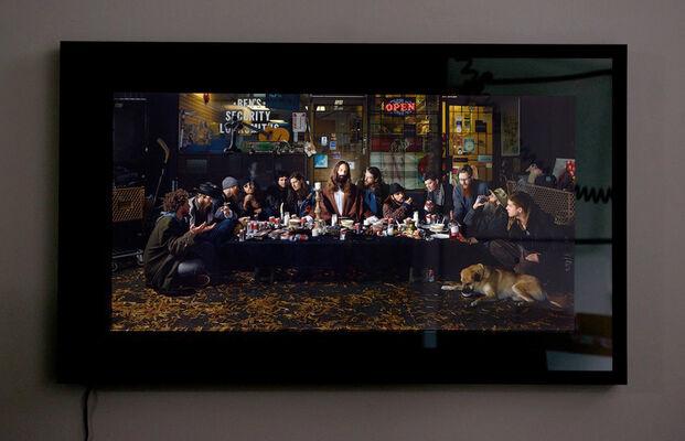 Dina Goldstein: Gods of Suburbia, installation view