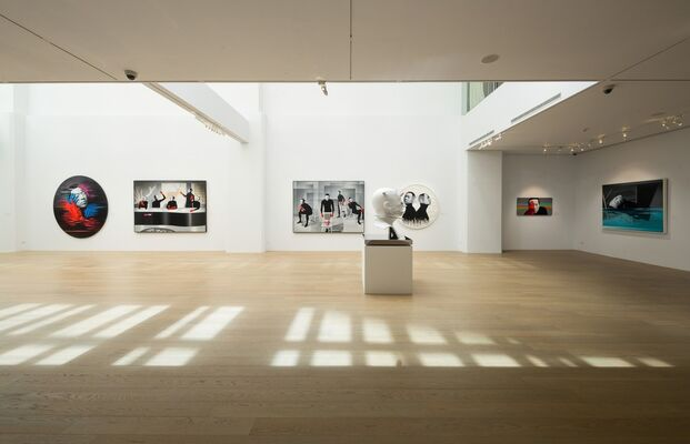 A Collection of Microcracks — LIN Hung-Hsin's Solo Exhibition, installation view
