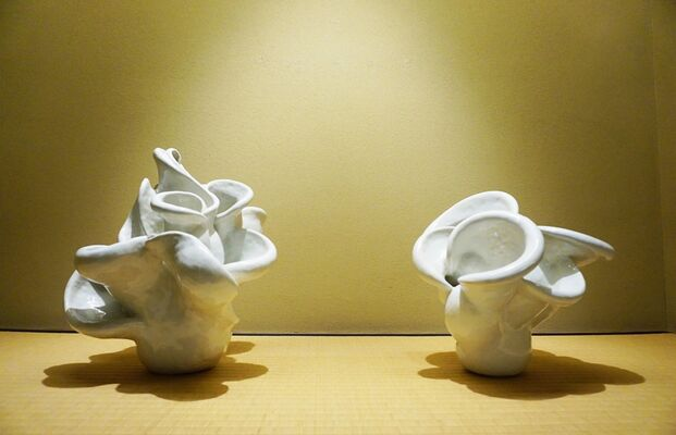 Aya Mori and Saki Kawaura, installation view