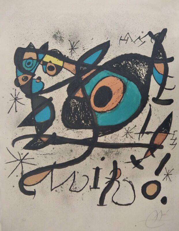 Joan Miró, 'Untitled', 1972, Print, Lithograph, promoart21