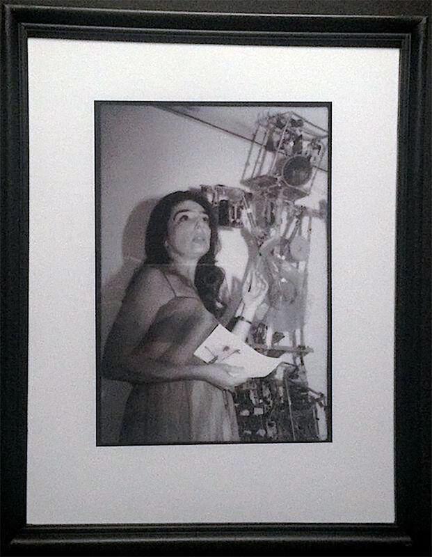 Paul Garrin, 'Charlotte Moormon & Nam June Paik's Robot K456, Whitney Museum', 1982, Photography, Archival pigment print, IFAC Arts