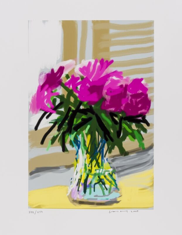 David Hockney, 'iPhone drawing 'No. 535', 28th June 2009', 2009, Print, Inkjet print in colours, Forum Auctions