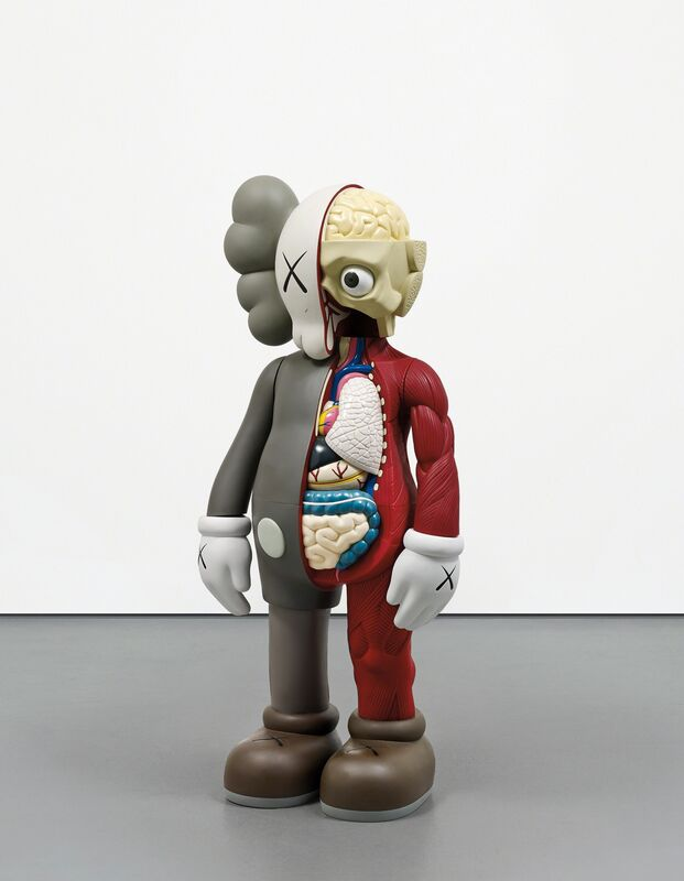 KAWS, 'Four Foot Dissected Companion', 2009, Drawing, Collage or other Work on Paper, Painted cast vinyl, Phillips