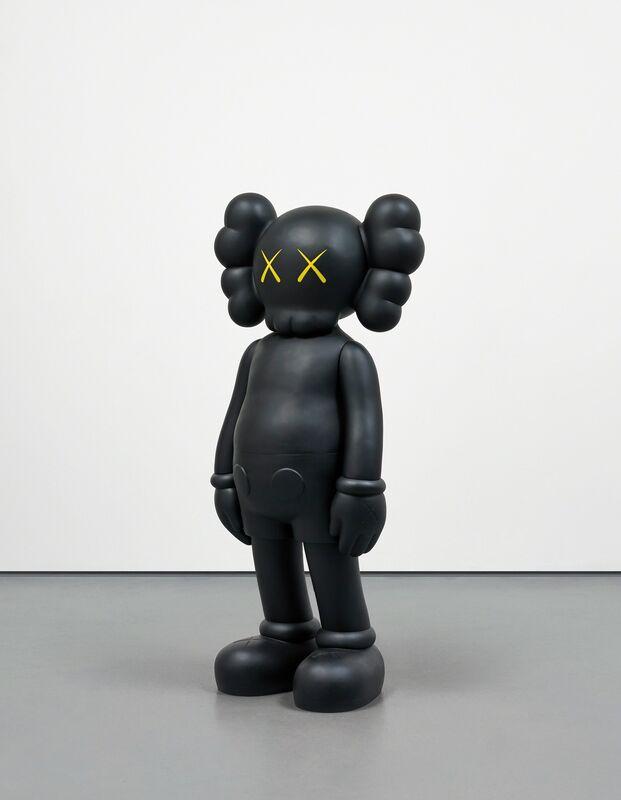 KAWS, 'Companion Black', 2007, Sculpture, Painted cast vinyl, Phillips