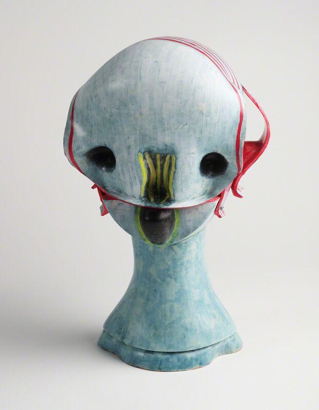 Izumi Kato, 'Untitled (Head) ', 2014, Sculpture, Soft vinyl, urethane foam, wood (pedestal), Coleccion SOLO