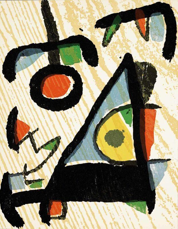 Joan Miró, 'Untitled (D.1291, Miro Graveur Volume II)', Print, Wood engraving, Martin Lawrence Galleries