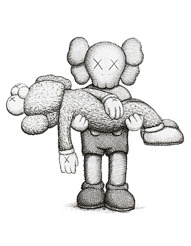 KAWS, 'Gone', 2019, Print, Screen print on Arches Aquarelle 300gsm paper, Tate Ward Auctions