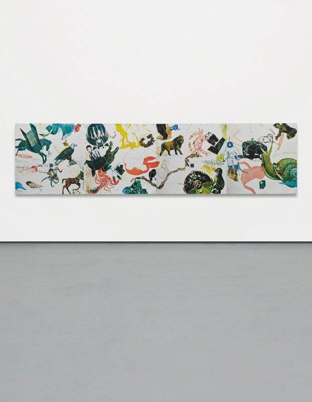 Robert Rauschenberg, 'Star Quarters', 1971, Print, The complete set of four screenprints in colors, on mirrored Plexiglas, the full sheets, mounted to wood supports, as issued, Phillips