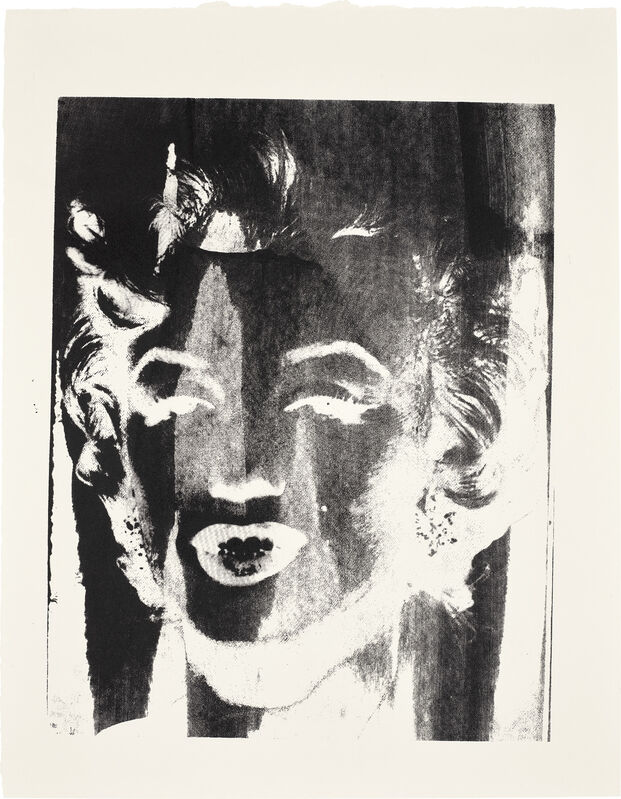 Andy Warhol, 'Marilyn', circa 1978, Print, Unique screenprint, on Curtis Rag paper, with full margins., Phillips
