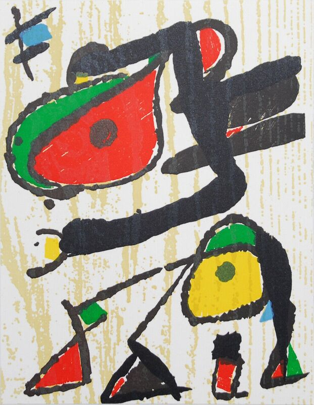 Joan Miró, 'Untitled Composition', 1973-1975, Print, Lithograph, Cerbera Gallery