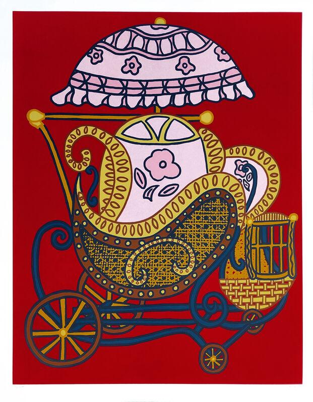 William Nelson Copley, 'BABY BUGGY', 1978, Print, SCREENPRINT, Gallery Art