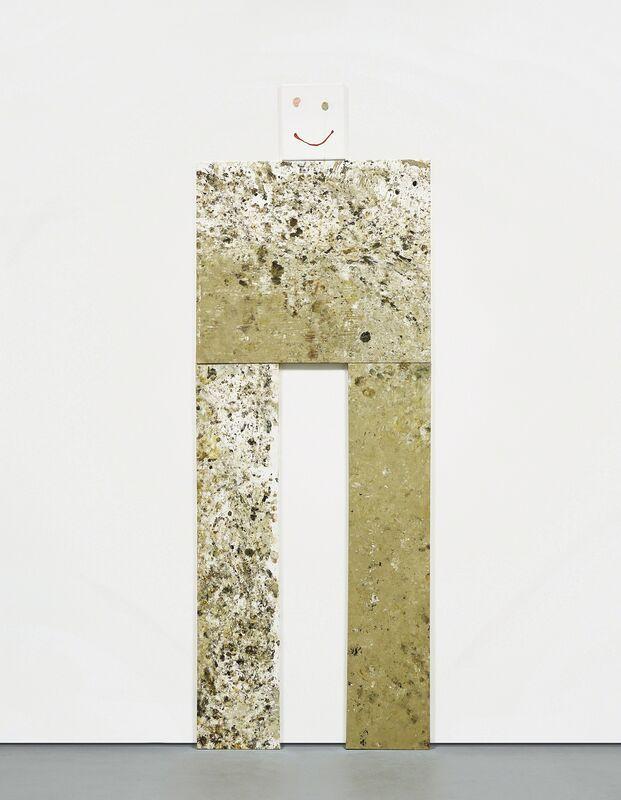 Dan Colen, 'Shitface', 2007, Sculpture, Oil and gum on canvas, in 4 parts, Phillips