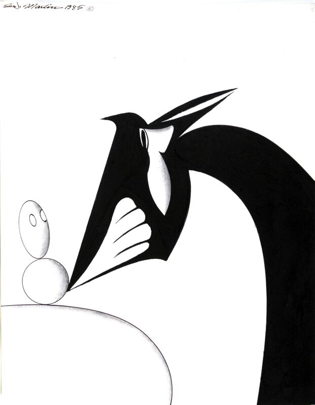 Eugene James Martin, 'Untitled', Drawing, Collage or other Work on Paper, Pen and ink and graphite drawing, Eugene Martin Estate