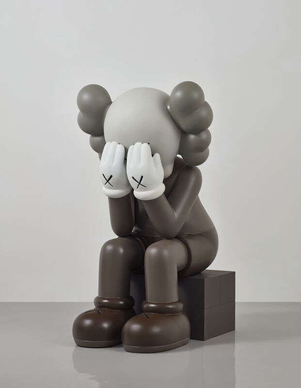 KAWS, 'Seated Companion', 2011, Sculpture, Painted bronze, Phillips