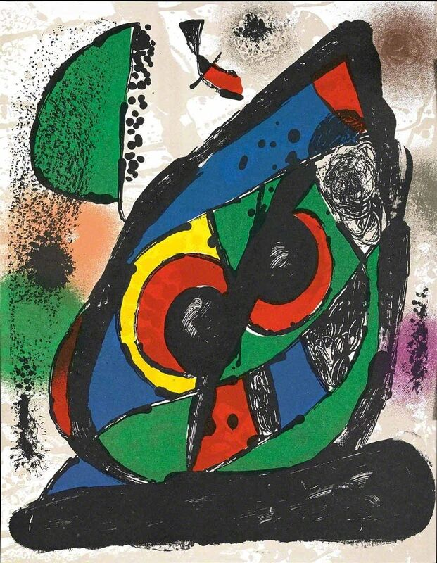 Joan Miró, 'Untitled (Lithographe IV, M.1256)', Print, Lithograph, Martin Lawrence Galleries