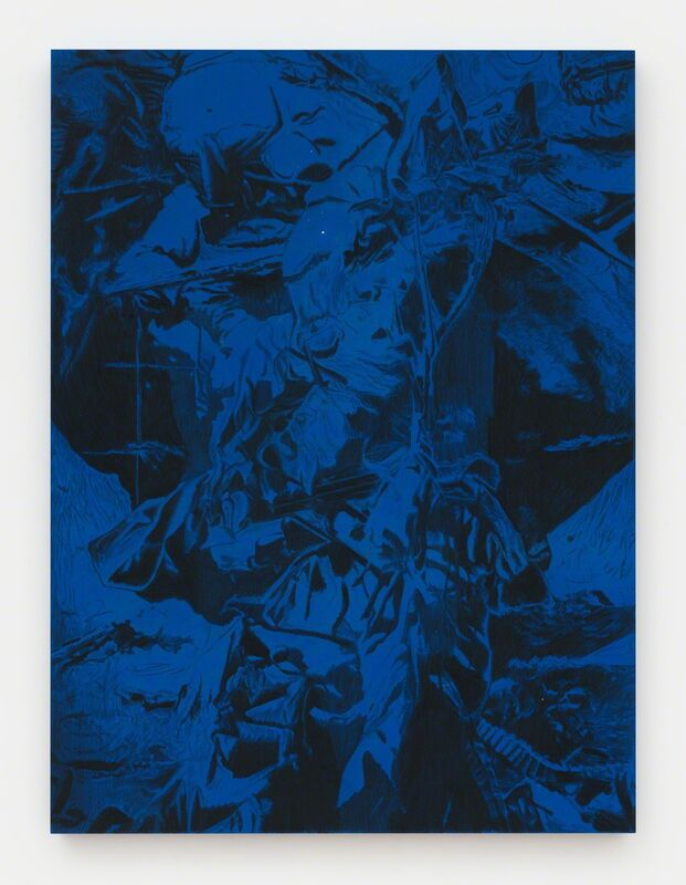 Ian Tweedy, 'March 26 - April 1, 2015', 2015, Painting, Charcoal and ink on muslin, Feuer/Mesler