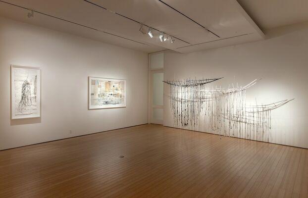 Raine Bedsole: Unseen Currents, installation view