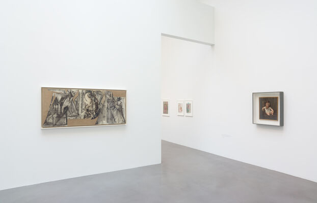 Strategic Vandalism: The Legacy of Asger Jorn's Modification Paintings Curated by Axel Heil and Roberto Ohrt, installation view