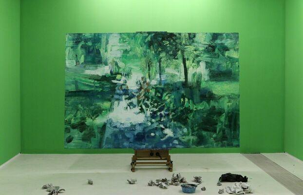 Zhang Jian: Tranquility, installation view