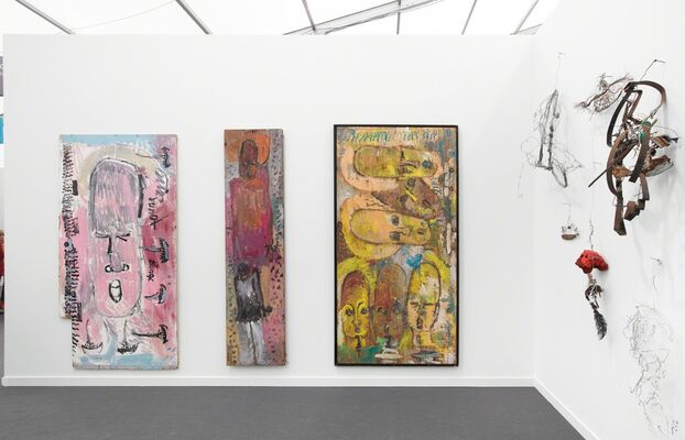 James Fuentes at Frieze New York 2019, installation view