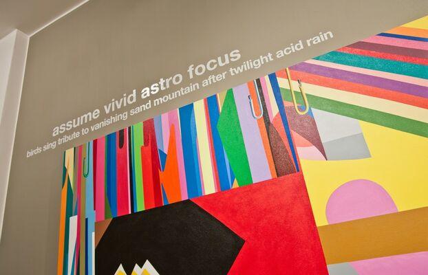 AVAF meets DADA — Sideshow, installation view