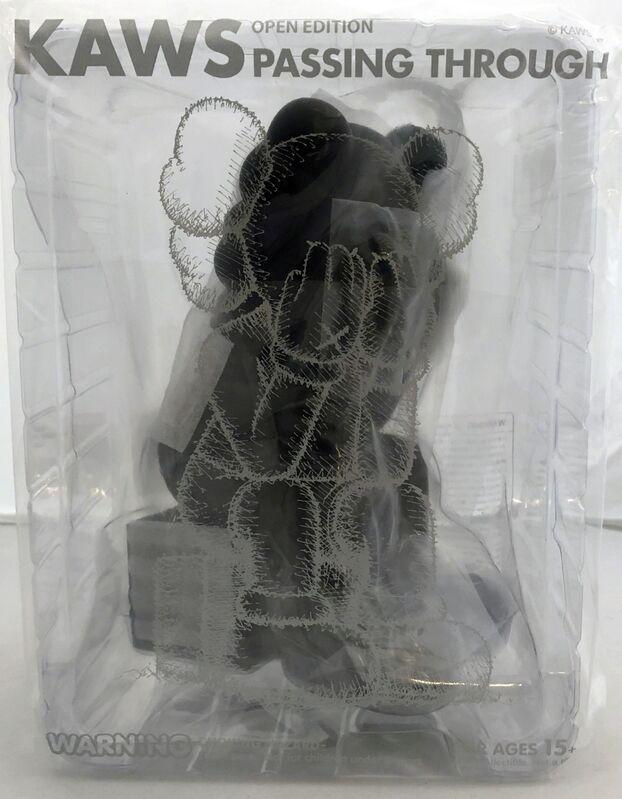 KAWS, 'KAWS Black Passing Through Companion ', 2018, Sculpture, Cast Resin, Vinyl, Lot 180