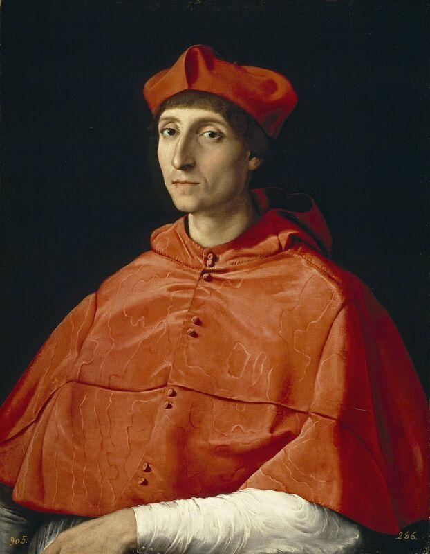 Raphael, 'The Cardinal', 1510, Painting, Oil on canvas, Museo Nacional del Prado