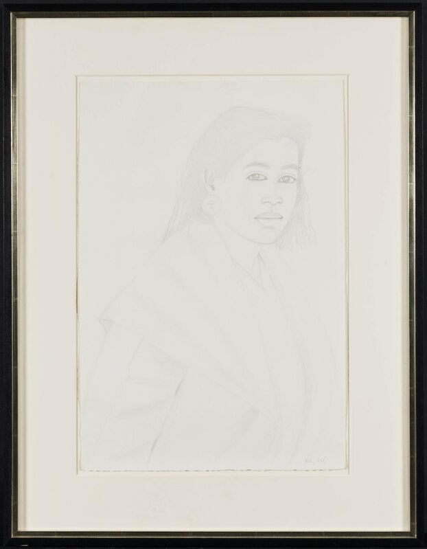 Alex Katz, 'Croile', 1983, Drawing, Collage or other Work on Paper, Pencil on strong paper, Van Ham