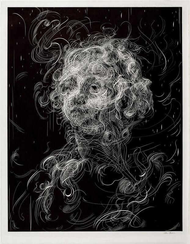 Glenn Brown, 'Bring on the Dancing Horses (after Del Sarto/Greuze)', 2019, Print, Linocut, Paragon