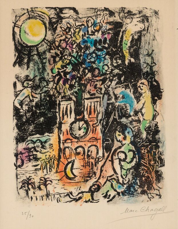 Marc Chagall, 'The Tree of Jesse', 1960, Print, Lithograph in colors on Arches paper, Heritage Auctions