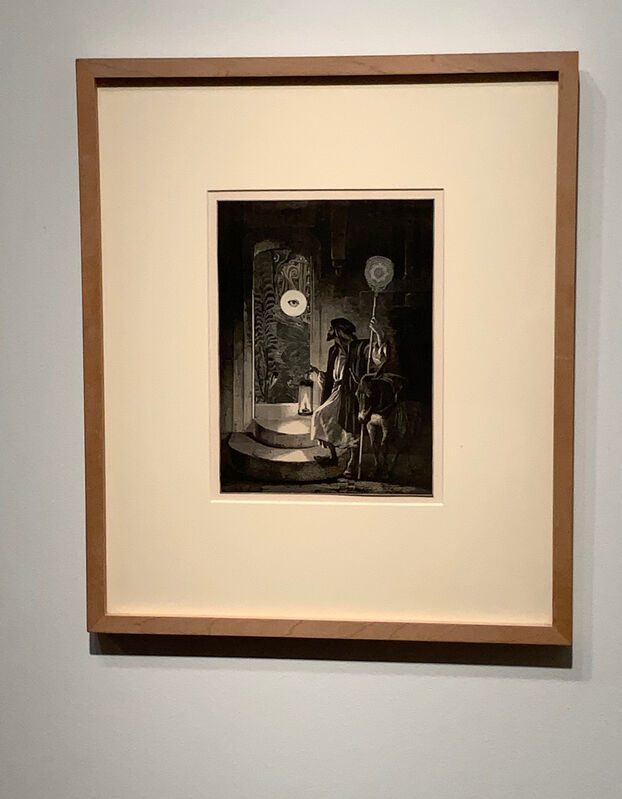 Bruce Conner, 'DIOGENES WHO?', 1990, Drawing, Collage or other Work on Paper, Wood engravings with YES glue, Alan Koppel Gallery