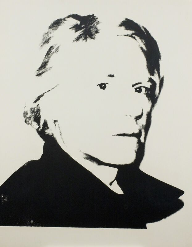 Andy Warhol, 'Self-Portrait', ca. 1977, Print, Unique screenprint on paper, Ronald Feldman Gallery