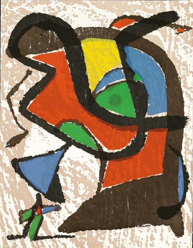 Joan Miró, 'Untitled (Miró Graveur Volume I, D.1289)', Print, Wood engraving, Martin Lawrence Galleries