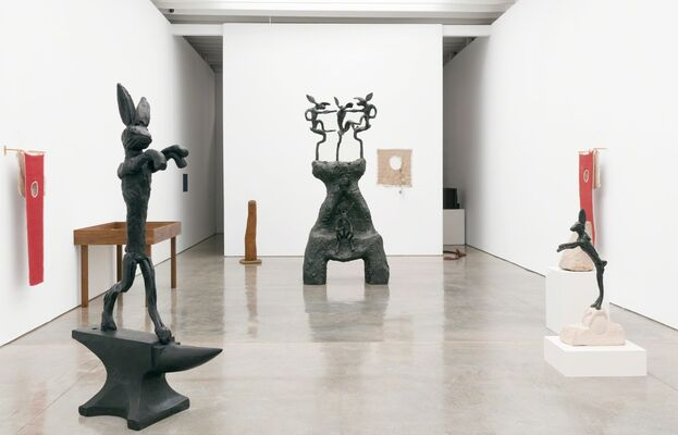 Barry Flanagan: The Hare is Metaphor, installation view