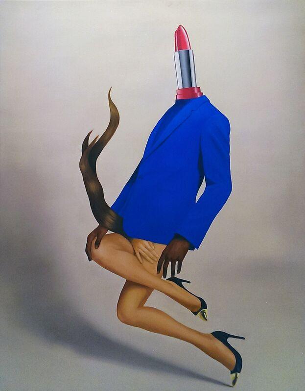 Eda Gecikmez, 'Pleasure Without Consent', 2013, Painting, Oil on canvas, Ekavart Gallery