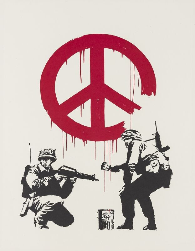 Banksy, 'CND Soldiers', 2005, Print, Screenprint in colours, Forum Auctions