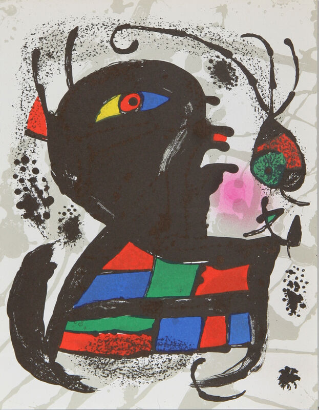 Joan Miró, 'Lithograph V (1117)', 1975, Print, Lithograph, RoGallery