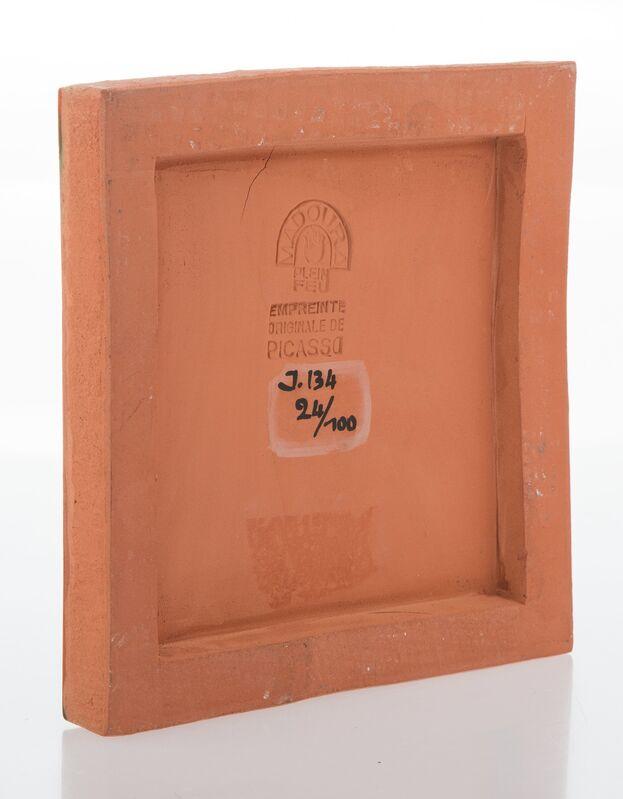 Pablo Picasso, 'Petit visage solaire', 1968, Design/Decorative Art, Terre de faïence plaque partially glazed and painted, Heritage Auctions