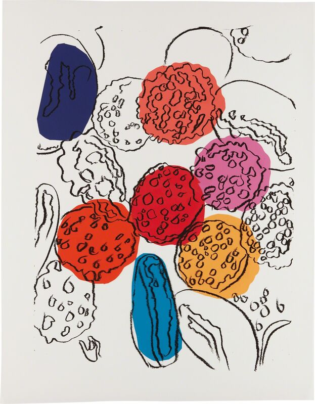 Andy Warhol, 'Cells', 1983, Mixed Media, Silkscreen ink, paper collage, tape and acetate on board, Phillips