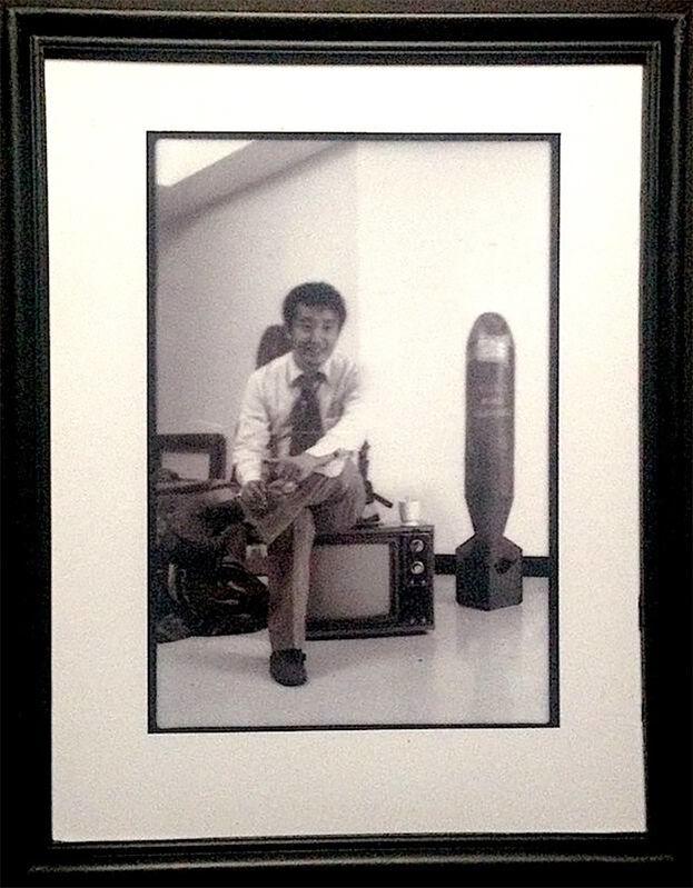 Paul Garrin, 'Nam June Paik before the show, Whitney Museum', 1982, Photography, Archival pigment print, IFAC Arts