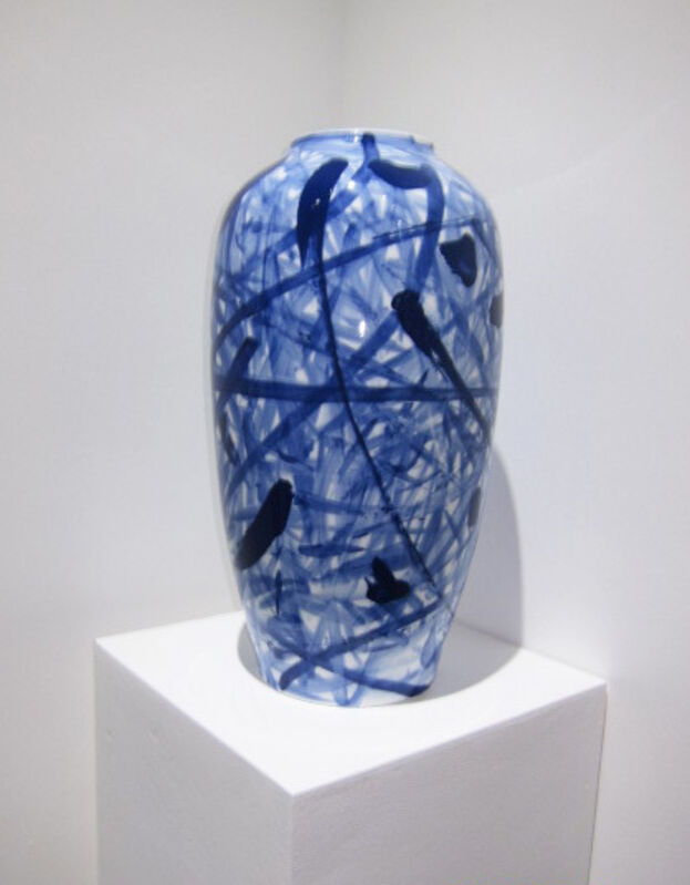Sanzi, 'Untitled 3 (Vase)', Design/Decorative Art, Ceramic vase, Taglialatella Galleries
