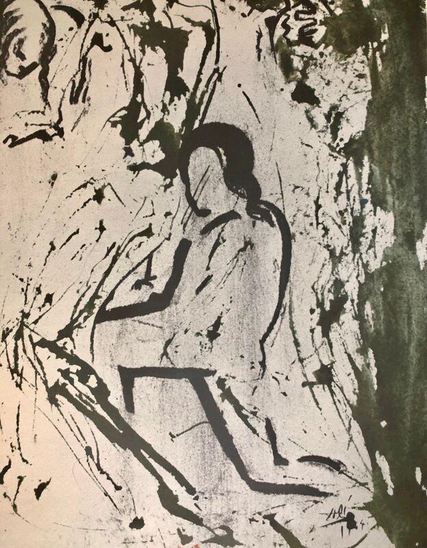 Salvador Dalí, 'And Took The Body Of Jesus Away, 'Et Tulit Corpus Iesu', Biblia Sacra', 1967, Print, Original Lithograph, Inviere Gallery