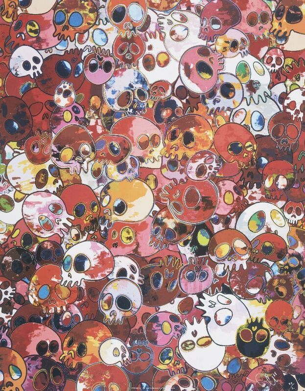 Takashi Murakami, 'MCRST', 1962-2011, Print, Offset lithograph in colours on smooth wove, Roseberys